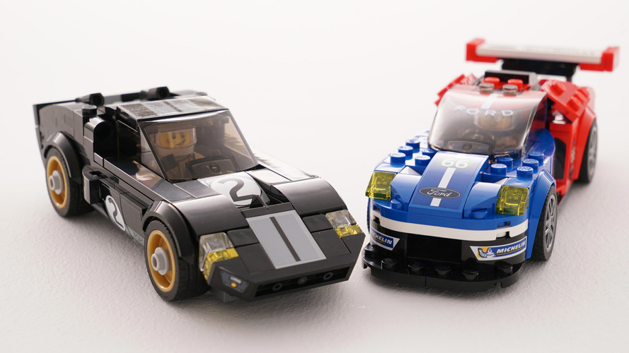 VIDÉO - Les Ford lauréates aux 24 Heures du Mans en Lego!