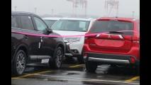 Mitsubishi Outlander reestilizado ganha teaser antes da estreia