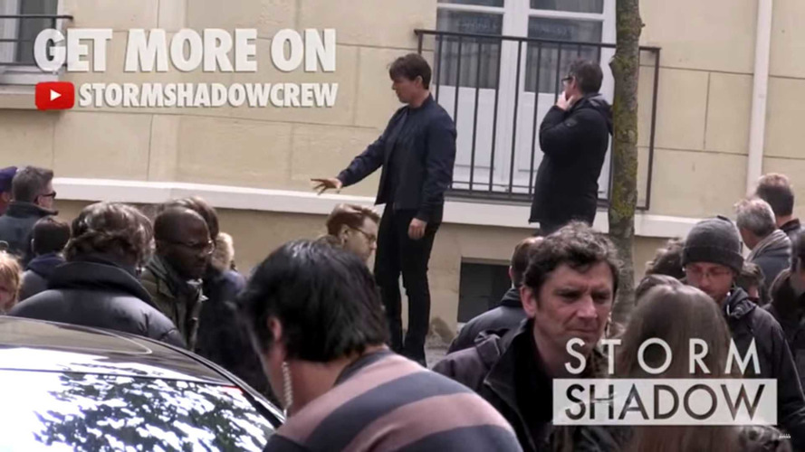 Tom Cruise cascades Mission Impossible 6 dans Paris