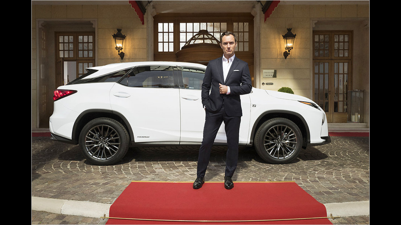 Jude Law: Lexus RX