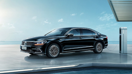 VW Phideon GTE Is The Large Hybrid Sedan Only China Will Get