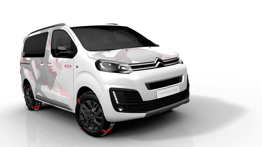 Citroën - Un nouveau SpaceTourer 4X4 Ë Concept officiellement dévoilé