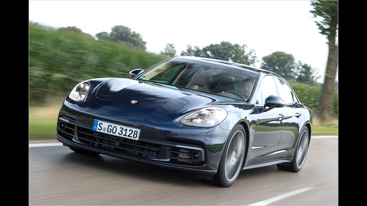 1. Platz: Porsche Panamera 4S Diesel
