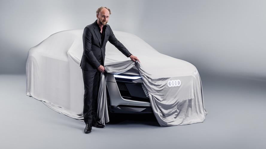 Audi E-Tron Sportback konseptinden bir teaser daha
