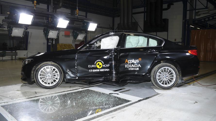 2017 BMW Série 5 Euro NCAP Crash Test