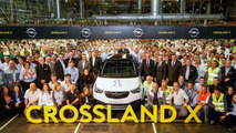 Opel Crossland X production