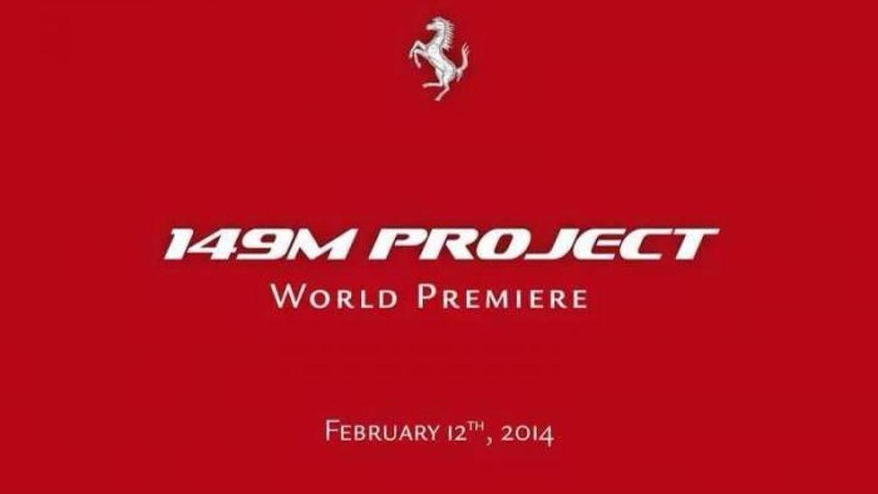 Ferrari 149M Project