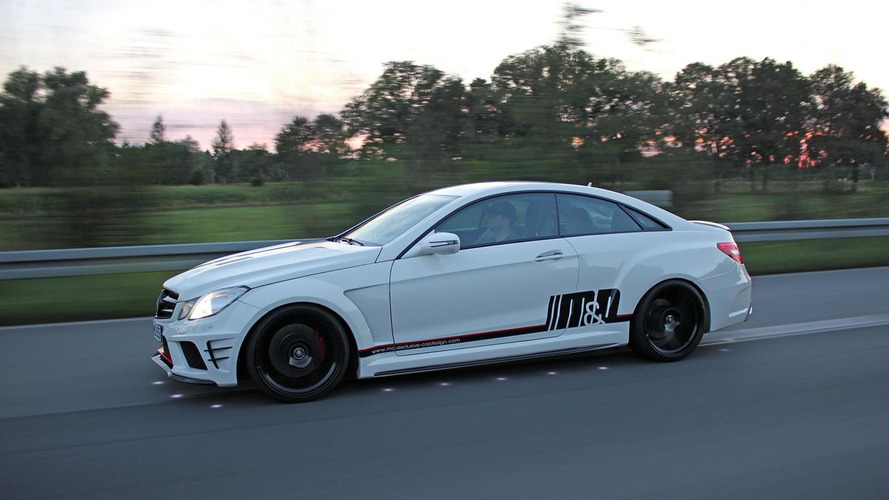 2009 Mercedes-Benz E500 Coupe tuned by M&D Exclusive Cardesign