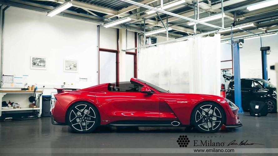 TVR Griffith Goes Topless To Preview Already Confirmed Cabrio