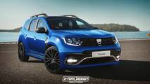 Dacia Duster Basic render