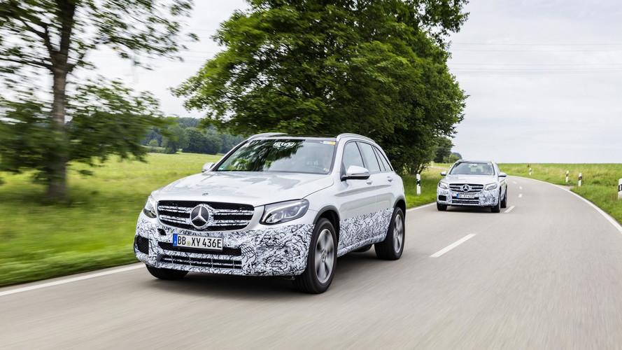 2017 Mercedes GLC F-Cell tanıtım