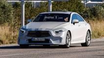 2018 Mercedes CLS az kamuflajlı casus fotoğrafları