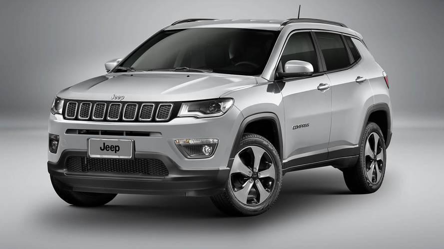 Jeep Compass fica até R$ 4.000 mais caro em janeiro
