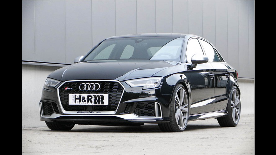 Audi RS 3: Limousine mit Tiefgang
