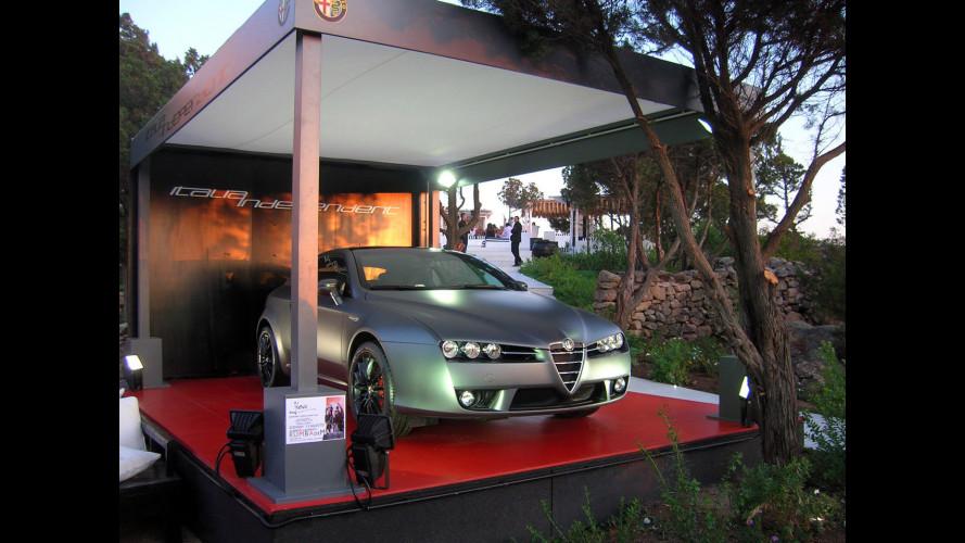 """A Torino la prima Alfa Romeo Brera """"Italia Independent"""""""