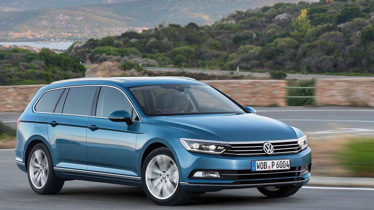 Geteilter Platz 4: VW Passat Variant (1.780 Liter)