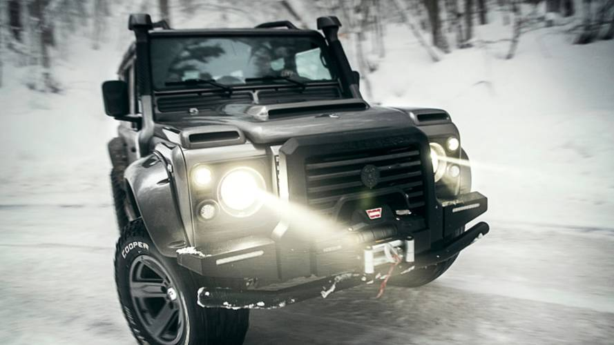 Ares Design reveals new take on Land Rover Defender