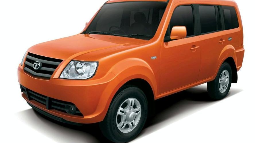 Tata Sumo Grande Premiere at India's Auto Expo