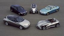 DaimlerChrysler research vehicles