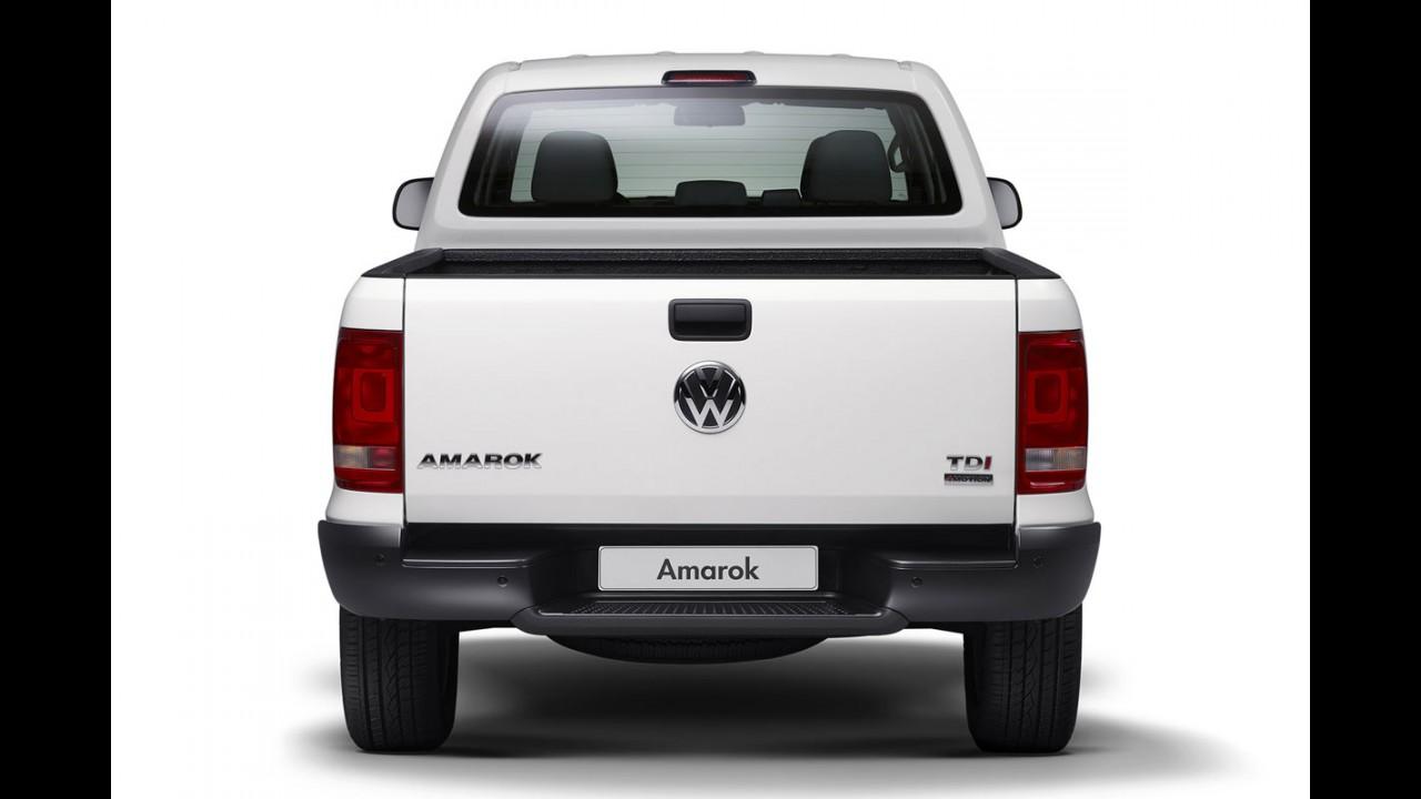 VW Amarok ganha versão com caçamba alongada na Alemanha
