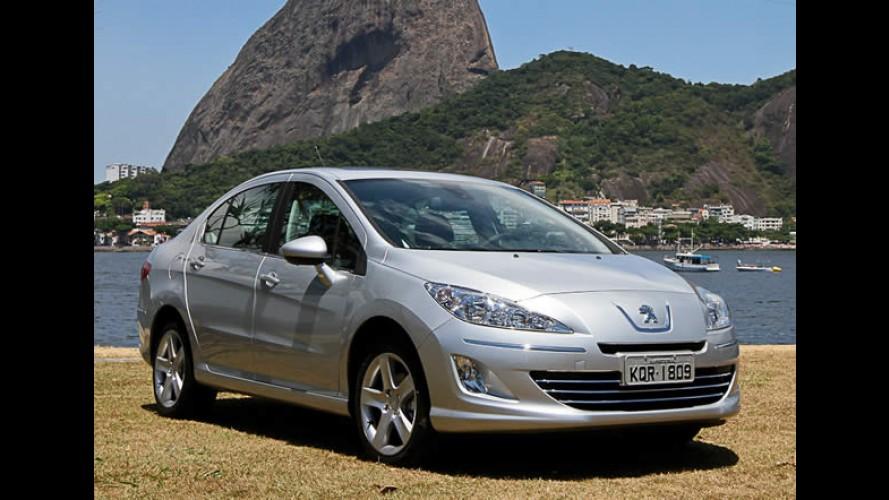 Atraso: Peugeot 408 equipado com motor 1.6 Turbo deverá chegar apenas em 2012
