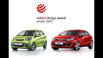 Kia Picanto e Rio recebem prêmio de design Red Dot Award