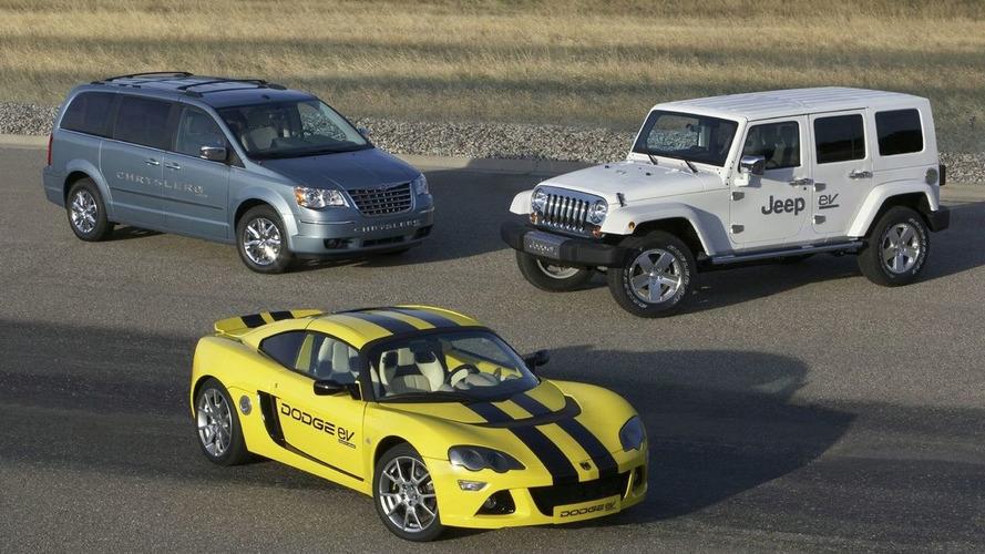 Chrysler LLC Present Chrysler, Dodge & Jeep Electric Vehicles