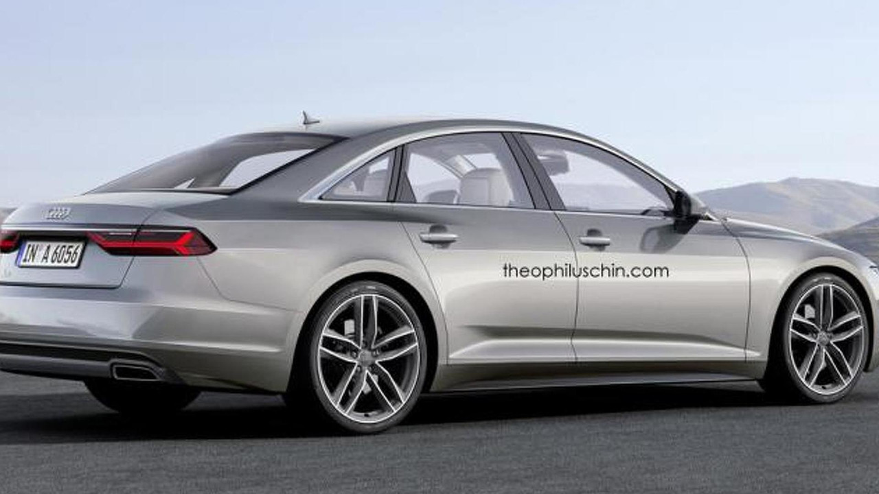 2017 audi a6 render 3 photos