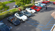 Ferrari 458 Speciale Tiffany Blue shows up at Ferrari of Newport Beach gathering