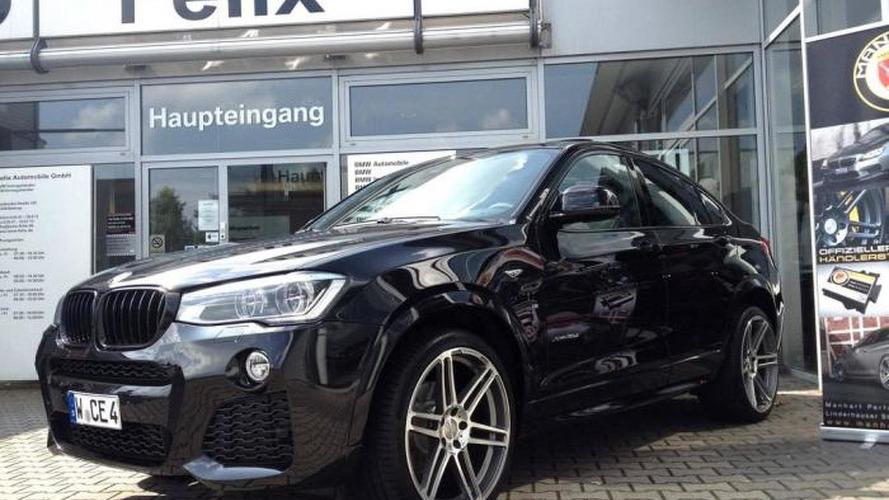 Manhart upgrades the BMW X4 to 375 PS