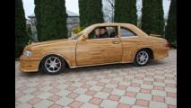 L'auto di legno double-face