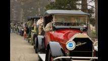Sfilata auto d'epoca costruite prima del 1916