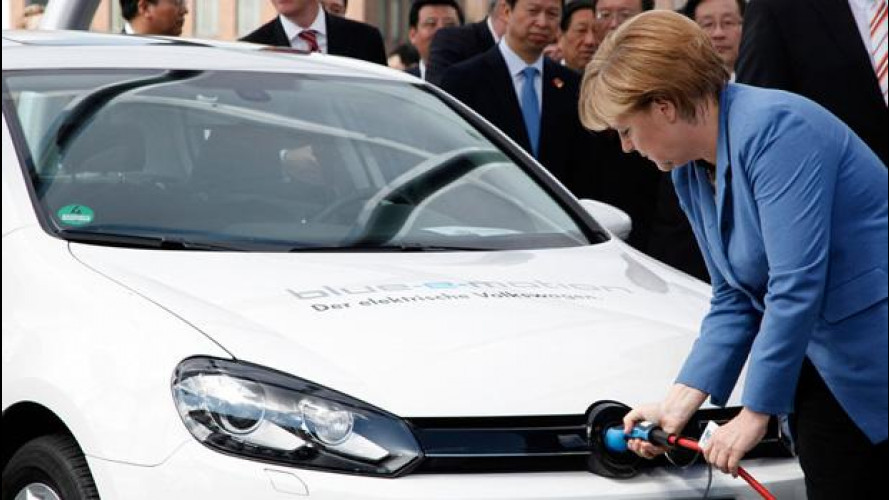Auto elettriche, in Germania incentivo statale di 4.000 euro