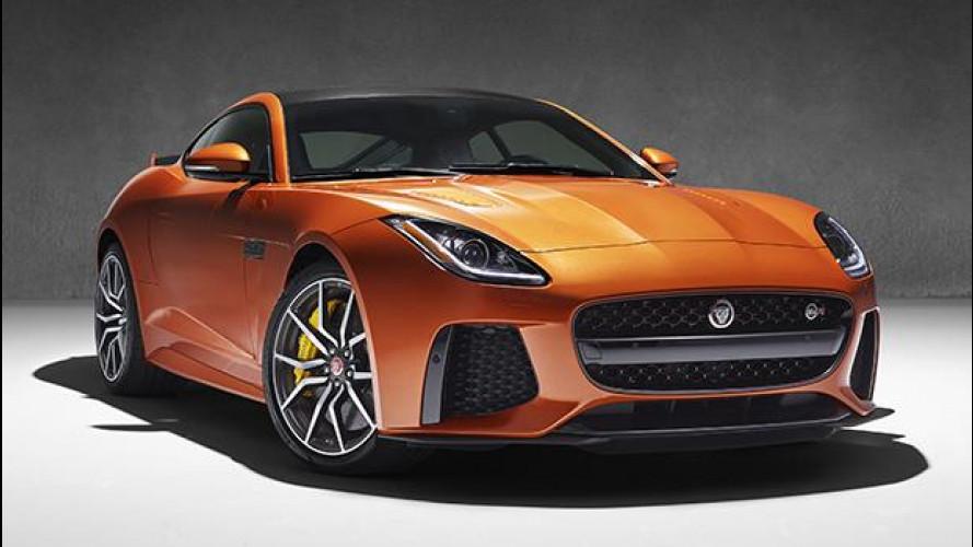 """Jaguar F-Type SVR, il """"Giaguaro"""" ruggisce ancora più forte"""