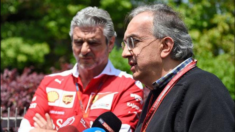 """F1, Marchionne e Ferrari: """"La macchina c'è"""""""
