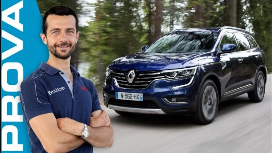 Renault Koleos, il SUV tutto comfort [VIDEO]