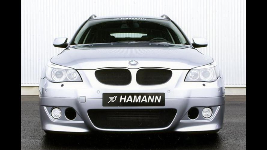 Hamann BMW 5er: Tuner entfesselt den Bayern-Kombi