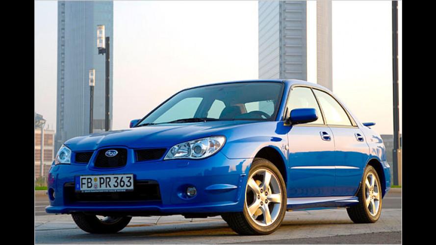 Subaru bringt Sondermodell Impreza 2.0R RS
