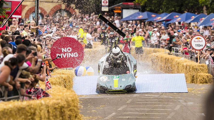 Watch The Aston Martin Soapbox In Action