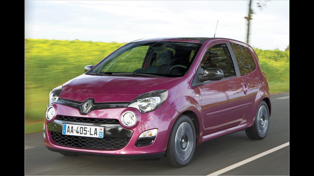 Renault Twingo 1.2: - 10,2 Prozent