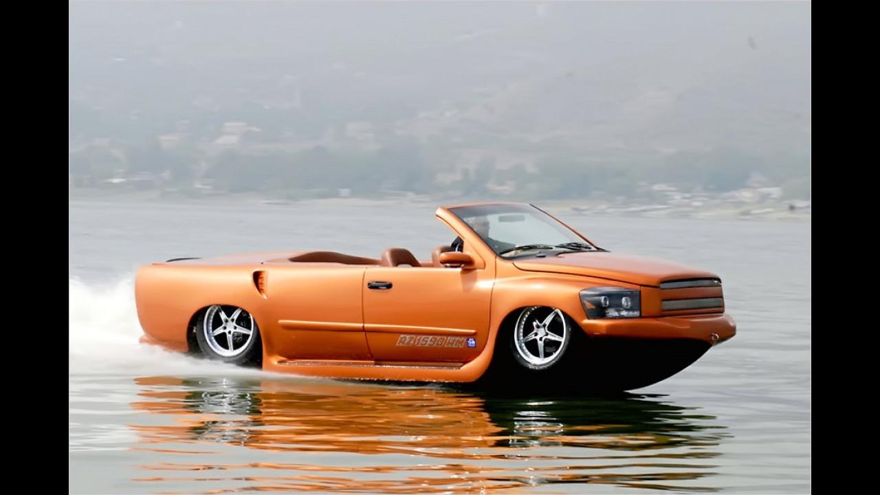 Schnellstes Amphibienauto