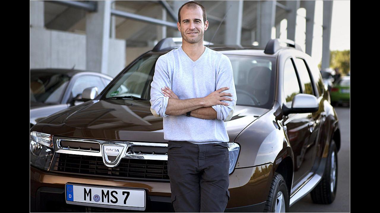Mehmet Scholl: Dacia Duster