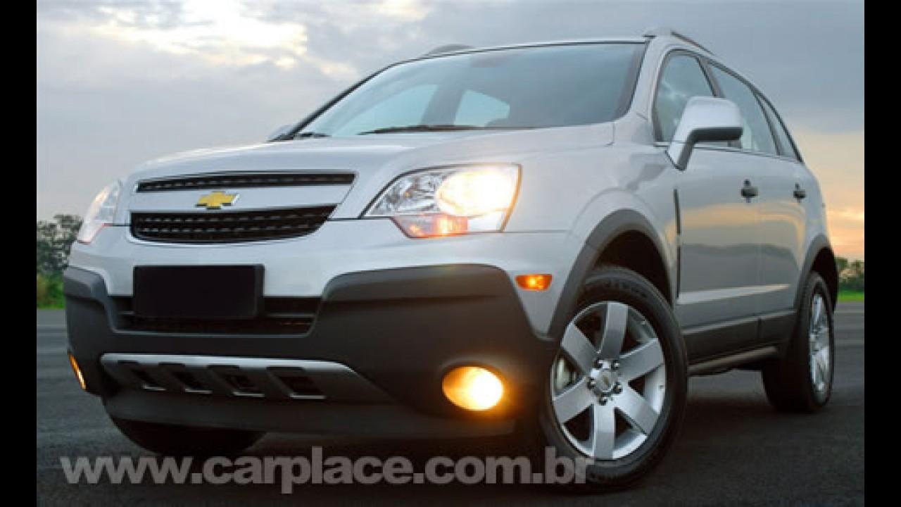 Chevrolet explica motor 2.4 Ecotec do Captiva - Na estrada consome 14,9 km/l?