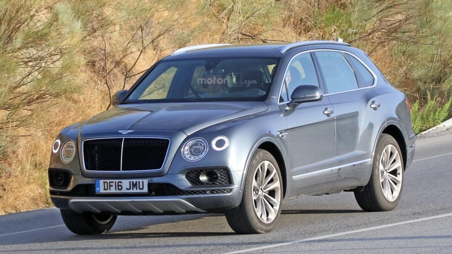 Bentley Bentayga'nın dizel versiyonu objektife yakalandı