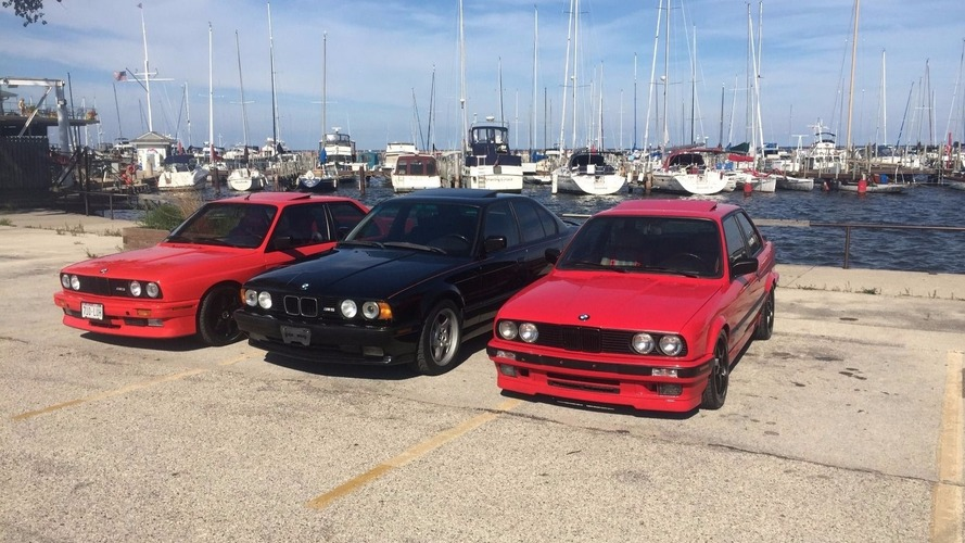BMW holy trinity eBay auction is instant collection