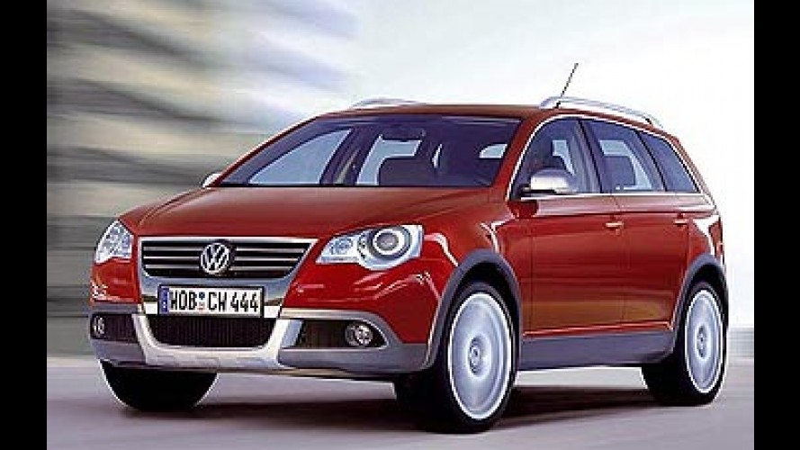 Novidades da Volkswagen para 2006 incluem inédito SUV