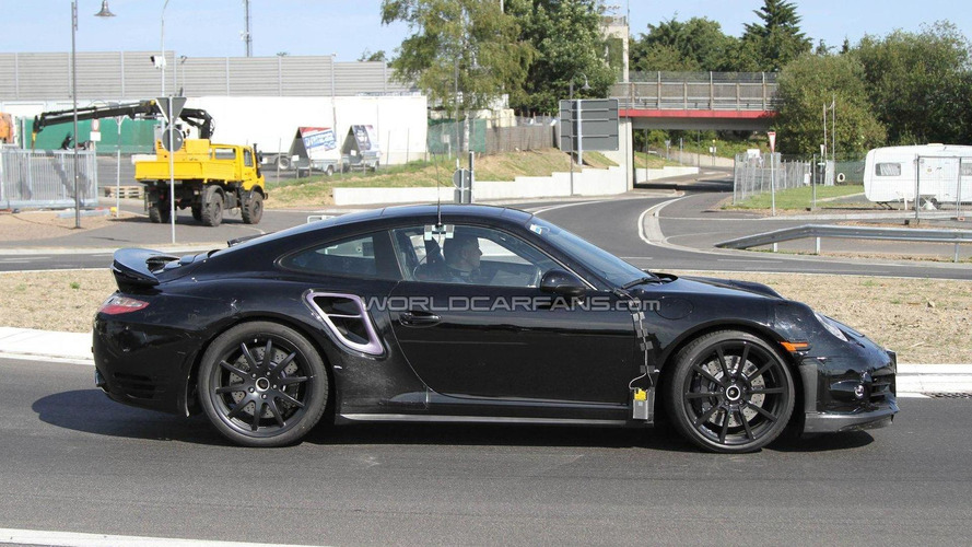 Porsche Boxster, Cayman and 911 Cabrio / Turbo spied together in San Francisco [video]