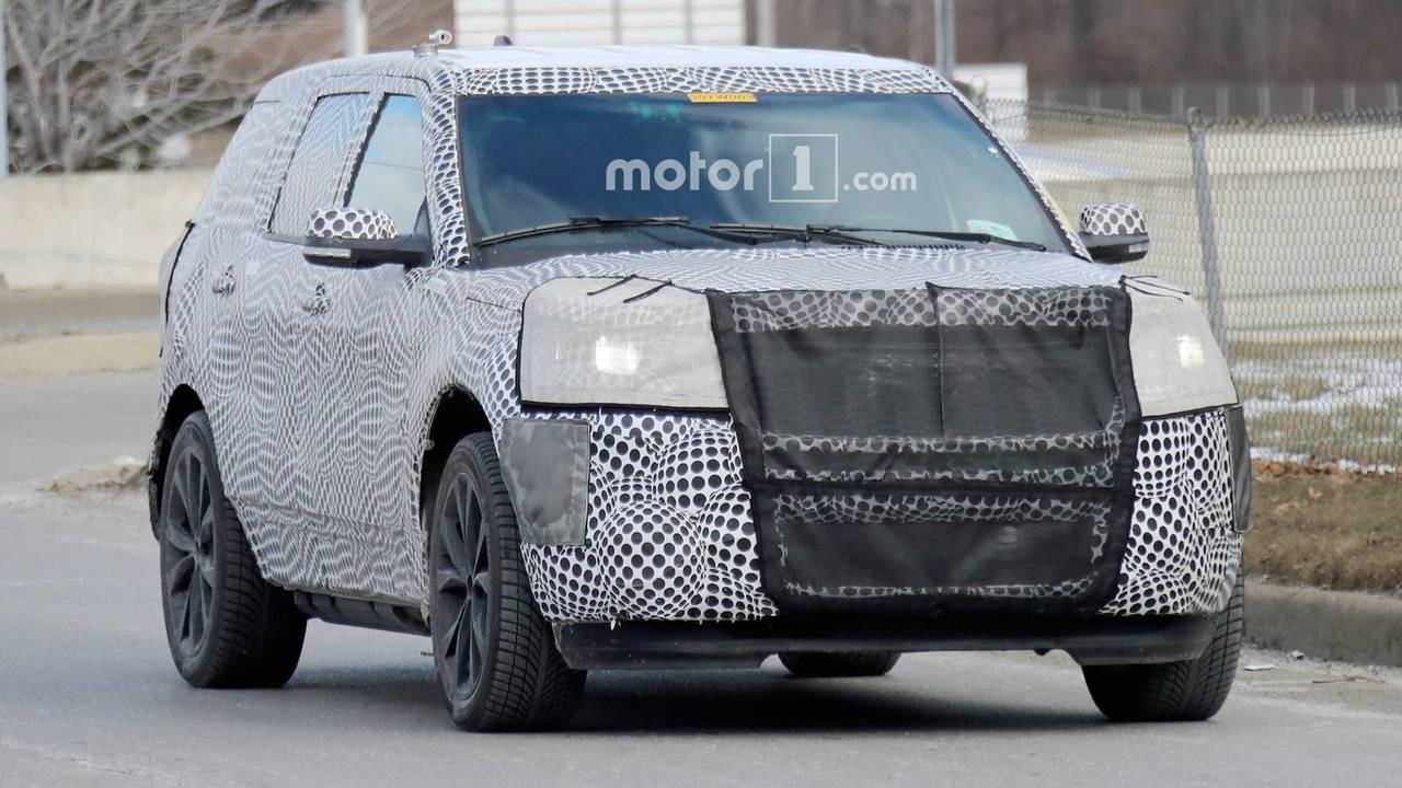Ford Explorer St With 400 Hp Spied For The First Time