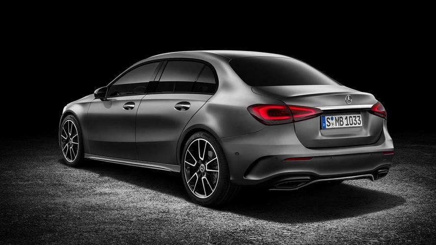 Mercedes A-Serisi Sedan Tasarım Yorumu
