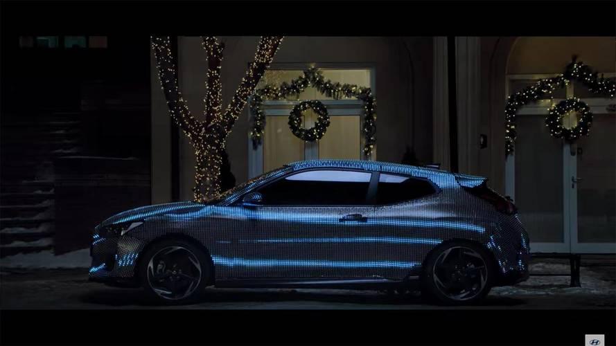 Teaser Hyundai Veloster 2018, el deportivo se acerca...